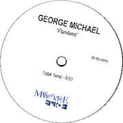 "George Michael Flawless UK 12"" vinyl Promo"