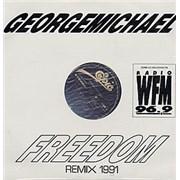 "George Michael Freedom - sealed Mexico 12"" vinyl Promo"