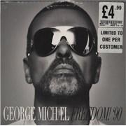 "George Michael Freedom! '90 UK 7"" vinyl"