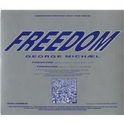 George Michael Freedom USA CD single Promo