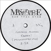 "George Michael Freeek! UK 12"" vinyl Promo"
