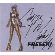 George Michael Freek - Autographed! UK CD single