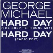 "George Michael Hard Day Australia 12"" vinyl"