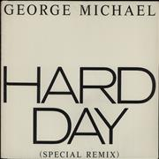 "George Michael Hard Day USA 12"" vinyl"