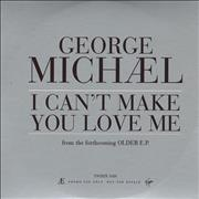 George Michael I Can't Make You Love Me UK CD single Promo