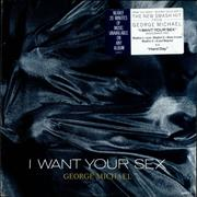 "George Michael I Want Your Sex - Gold promo stamped USA 12"" vinyl"