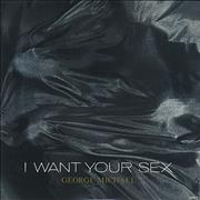 """George Michael I Want Your Sex USA 12"""" vinyl"""