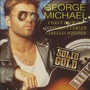 """George Michael I Want Your Sex UK 3"""" CD single"""