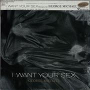 "George Michael I Want Your Sex Japan 12"" vinyl"