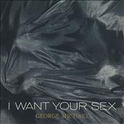 George Michael I Want Your Sex UK CD single