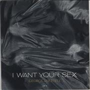 "George Michael I Want Your Sex UK 12"" vinyl"