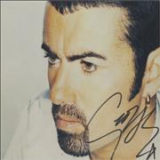 George Michael Jesus To A Child - Autographed USA CD single Promo