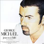 George Michael Jesus To A Child - The New Single UK display Promo