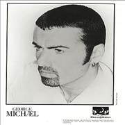 George Michael Jesus To A Child USA press pack Promo