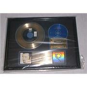 George Michael Jesus To A Child USA award disc Promo