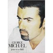 George Michael Jesus To A Child UK display Promo