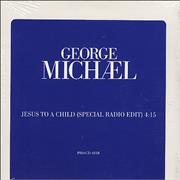 George Michael Jesus To A Child USA CD single Promo