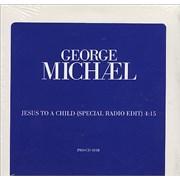 George Michael Jesus To A Child USA CD single Promo