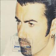 George Michael Jesus To A Child Canada CD single