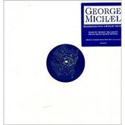 "George Michael Killer/Papa Was A Rolling Stone - Bonzai Mixes USA 12"" vinyl Promo"