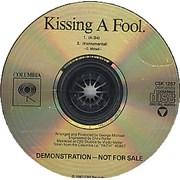 George Michael Kissing A Fool - Sealed USA CD single Promo