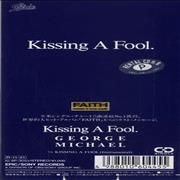 "George Michael Kissing A Fool Japan 3"" CD single"
