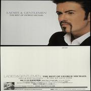 Click here for more info about 'George Michael - Ladies & Gentlemen - 10 Promotional Postcards'