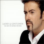 George Michael Ladies & Gentlemen - The Best Of George Michael Japan 2-CD album set