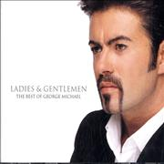 George Michael Ladies & Gentlemen: The Best Of USA 2-CD album set