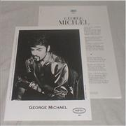 George Michael Ladies & Gentlemen USA press pack Promo