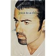 George Michael Like Jesus To A Child USA cassette single