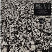 George Michael Listen Without Prejudice - Double Stickered UK vinyl LP