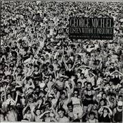 George Michael Listen Without Prejudice - Shrink UK vinyl LP