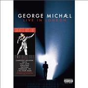 George Michael Live In London UK DVD