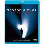George Michael Live In London UK Blu Ray
