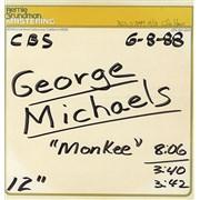 "George Michael Monkee USA 12"" vinyl"