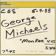 "George Michael Monkee USA 10"" vinyl"