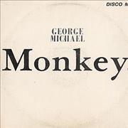 "George Michael Monkey Costa Rica 12"" vinyl"