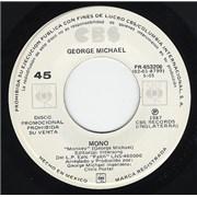 "George Michael Mono - Monkey Mexico 7"" vinyl Promo"