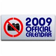 George Michael Official Calendar 2009 UK calendar