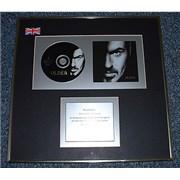 George Michael Older UK award disc