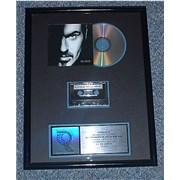 George Michael Older USA award disc