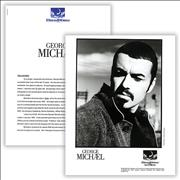 George Michael Older USA press pack Promo