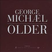 George Michael Older UK CD single Promo