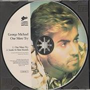 George Michael One More Try UK CD single