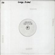 "George Michael Outside - Test Pressing USA 12"" vinyl Promo"