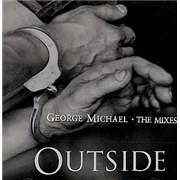 George Michael Outside - The Mixes Australia CD single