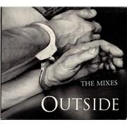 George Michael Outside - The Mixes UK CD single