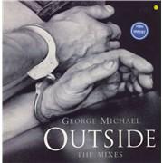 "George Michael Outside UK 12"" vinyl"