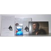 George Michael Patience [+ Hourglass] Korea CD album